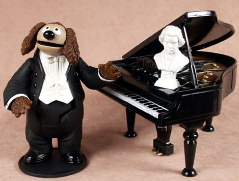 Rowlf the Dog Muppets Palisades action figure