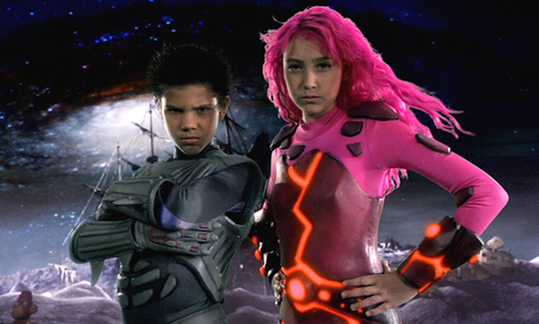 Sharkboy and Lavagirl were gifted from a very young age with the power of 1980's-era blue screen.