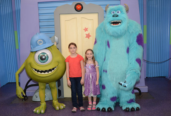 The Mike Wazowski costume in particular was the source of a lot of speculation.
