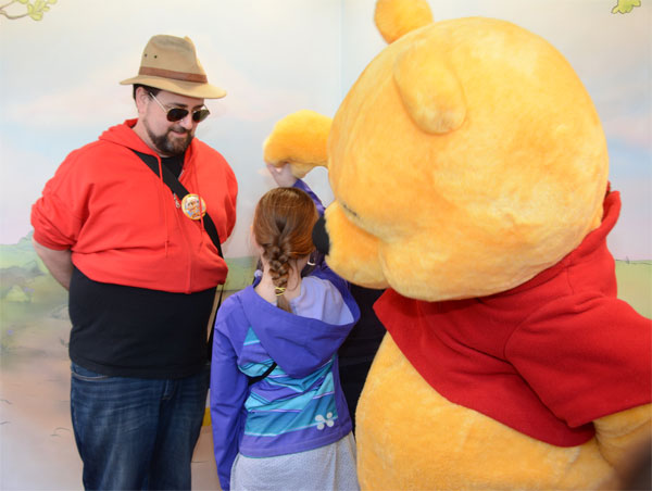 Who wore it best: me or Winnie the Pooh?