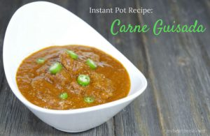 Carne Guisada Instant Pot recipe