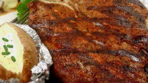 Rock's T-Bone Steaks recipe
