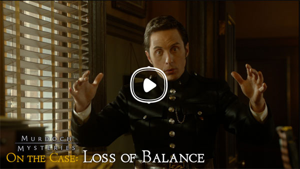 Jonny Harris as Constable George Crabtree for Murdoch Mysteries On the Case: Loss of Balance