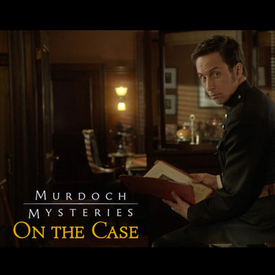 CBC Murdoch Mysteries: On the Case interactive mystery fiction Johnny Harris as Constable George Crabtree
