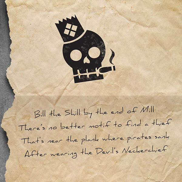 Bill the Shill from Murdoch Mysteries: The Infernal Device with puzzles designed by LockQuest